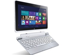 Acer Iconia W510 with keyboard dock