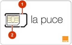 Double Carte SIM orange