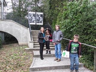 Visit at Musee d'Elysee in Lausanne