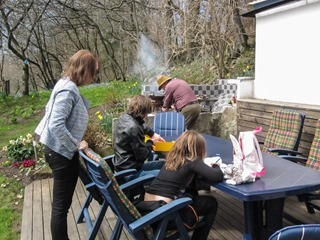 Spring holiday in Sweden - Barbeque time !