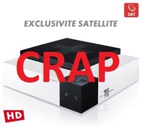 CanalSat Le Cube is Crap