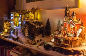 Our Christmas Village 2013