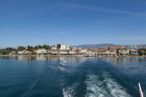 Trip to Yvoire for lunch via boat from Nyon