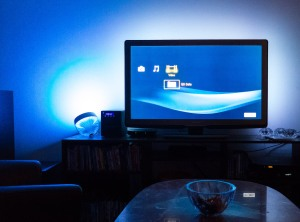 Philips Hue lights waching Blu-ray