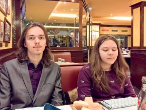 Dinner at Leon de Bruxelles