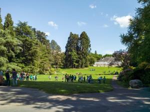 Walk in Parc de la Grance, Geneva